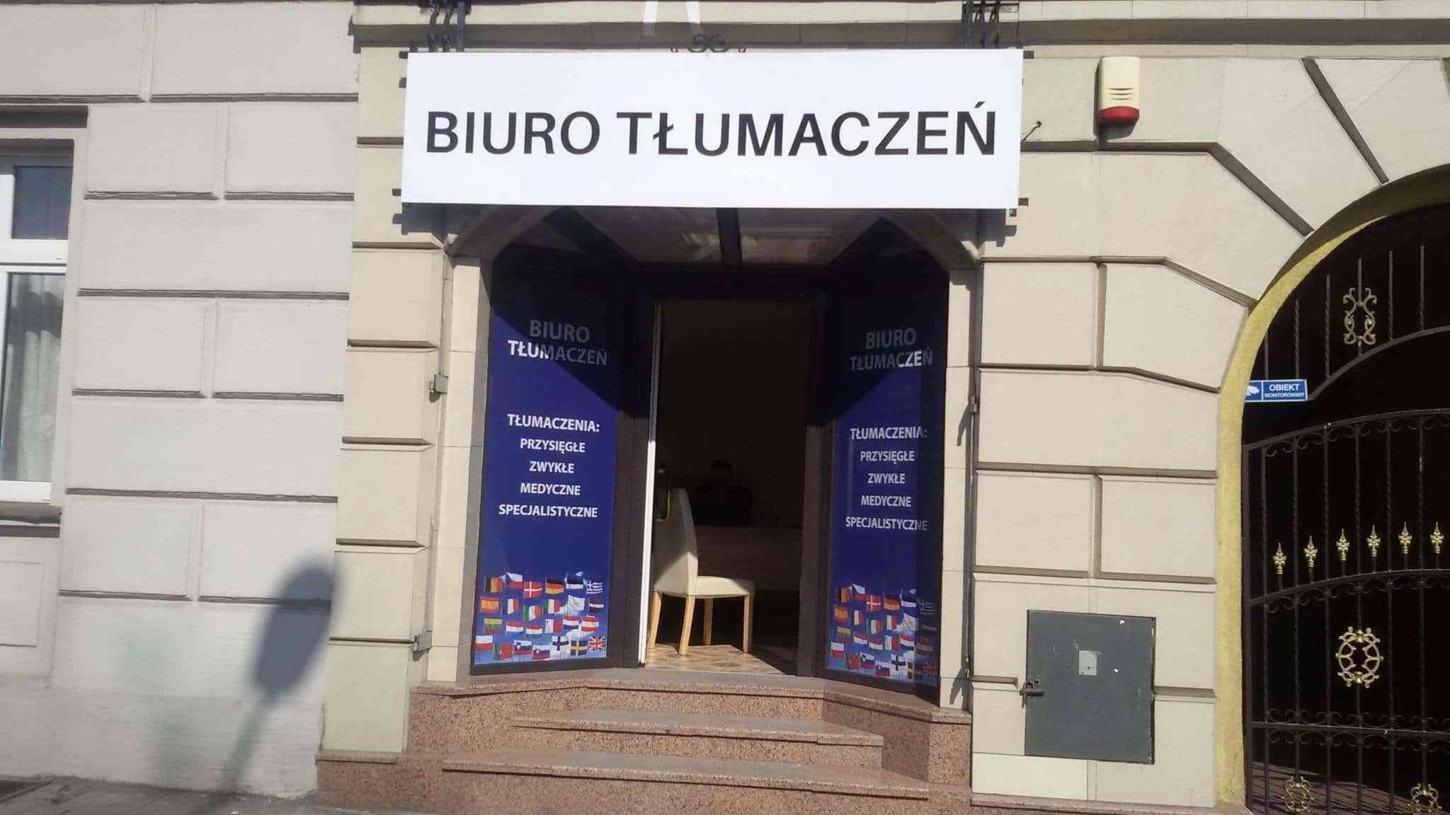 Nowa siedziba biura tłumaczeń online