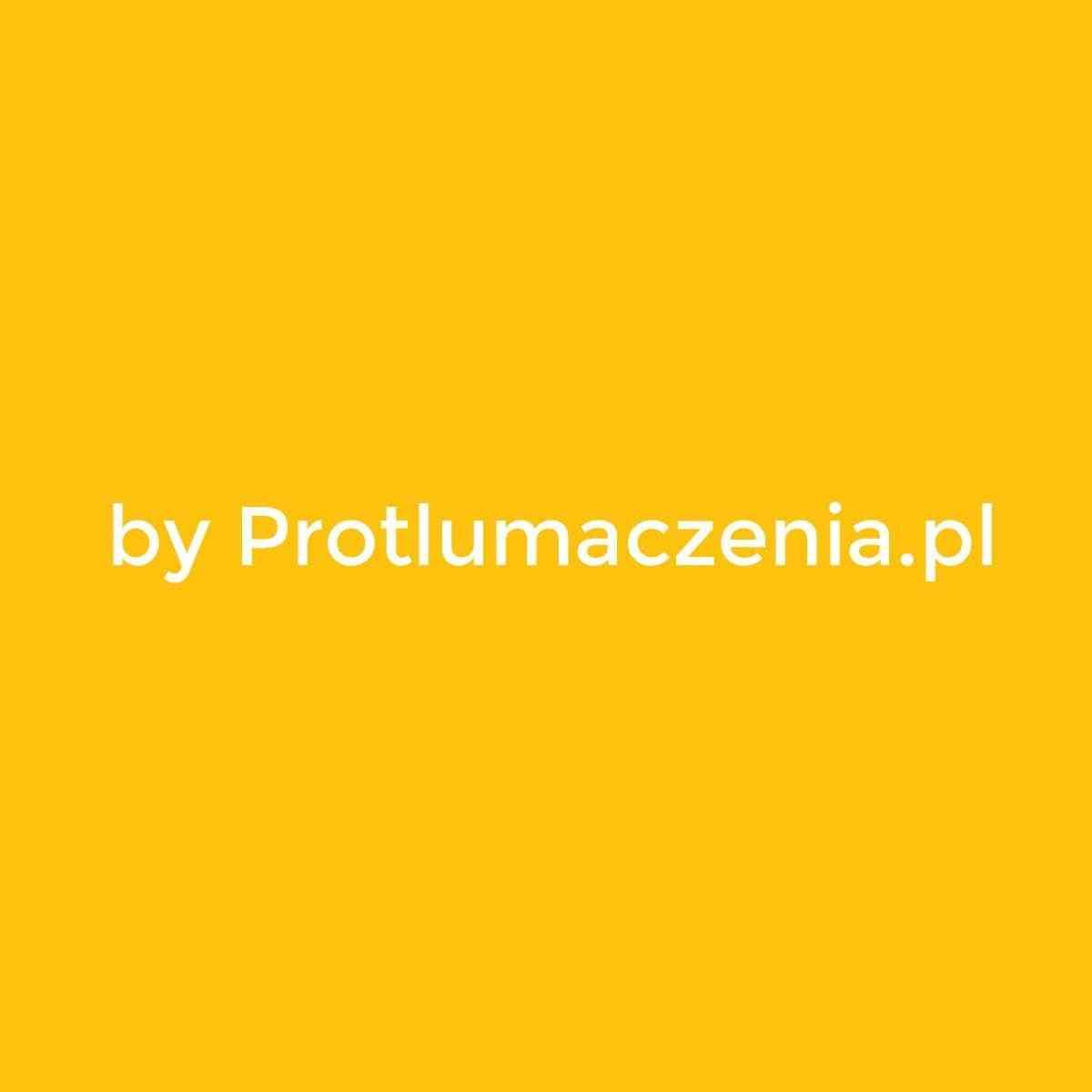"""Znak """"By Protlumaczenia.pl"""" zespala wizerunek biura tłumaczeń online"""