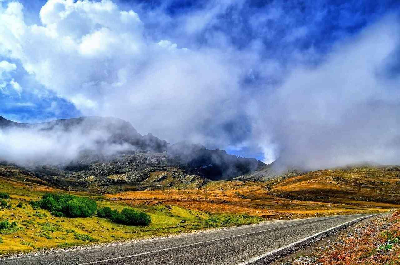 Podróże są okazją do poznania piękna przyrody innych krajów